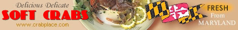 Tender sweet soft crabs from CrabPlace.com