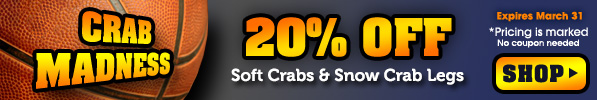 2017 Crabplace.com March Madness Sale
