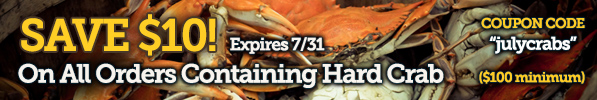 2017 Crabplace.com July Crab Sale