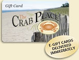 CrabPlace.com Gift Cards