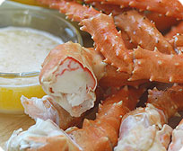 1 lb. pack Large King Crab Legs