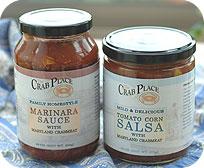 Four 16 oz. Marinara Sauce with Fresh Crabmeat